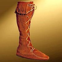 High Boots with Fringe