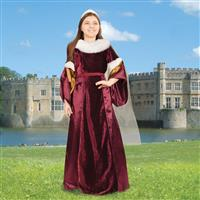 Queen Guinevere Gown for Youth
