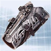 Armored Vambrace with Gun