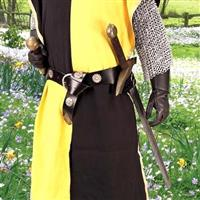 Double Adjustable Medieval Sword Belt