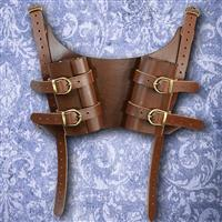 Dual LARP Sword Back Harness
