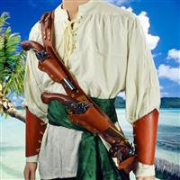 Pirate's Triple Threat Pistol Baldric