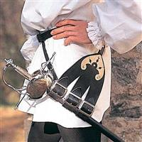 Three Forked Belt for Rapiers & Swords