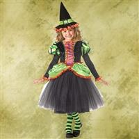 Storybook Witch Girl's Costume