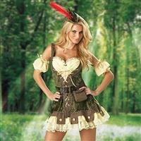 Racy Robin Hood Ladies Complete Costume