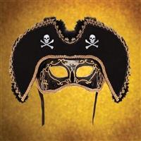 Black Pirate Mask