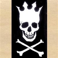 Skull with Crown Flag