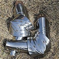 German Gothic Rerebrace, Vambrace & Couter