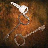 Antique Key Carabiners