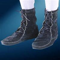Low Boots without Fringe