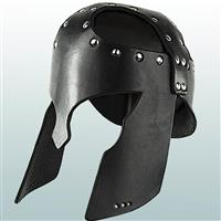 Greek Leather Helmet