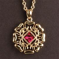 Anne of Cleves Tudor Rose Pendant