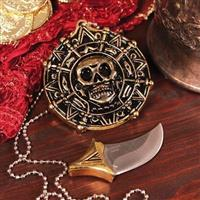 Pirate Pendant With Hidden Blade