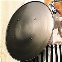 Steel Domed Shield