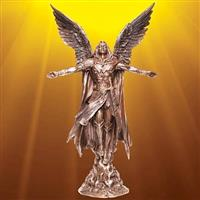 Ascending Angel Statue