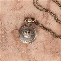 Royal Crown Locket Pocket Watch