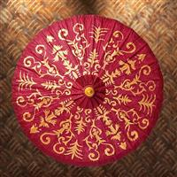 Gilded Paper Parasol