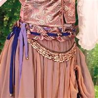 Gypsy Queen Metal Belt