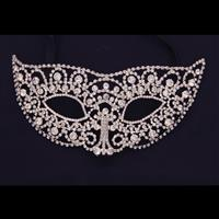 Rhinestone Ball Mask