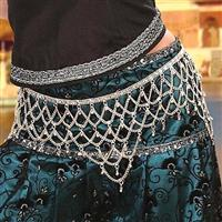 Scheherazade Silver Jingle Belt