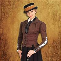 Winchester Brown Corset Coat