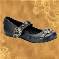 Steampunk Daisy Mary Jane Flats