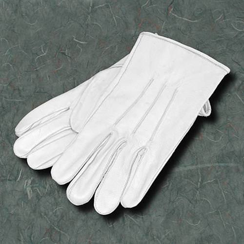 White Leather Gloves | Mens Footwear - Museum Replicas