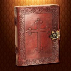 Crusader Leather Journal