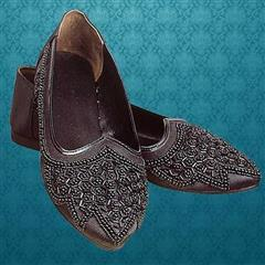 Beaded Renaissance Ladies Dress Shoes