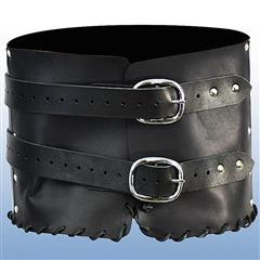 Dark Rogue Leather Belt