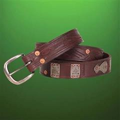Outlaw Thin Leather Belt