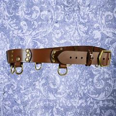 Steampunk Gear D-Ring Belt