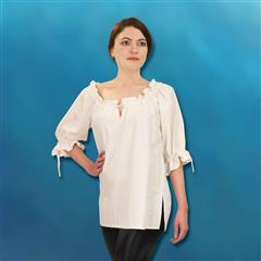 Hand-Woven, Hand-Stitched Ladies' Blouse