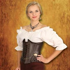 Leather Underbust Corset