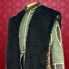 Brocade Courtly Cape