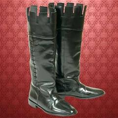 Castle Top Leather Boots