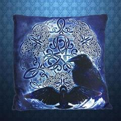 Celtic Raven Pillow