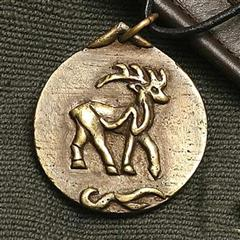 Celtic Red Deer Pendant