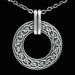 Celtic Ring Necklace