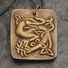 Celtic Sea Beast Pendant