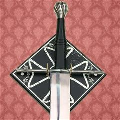 Maltese Cross Sword Plaque - Square