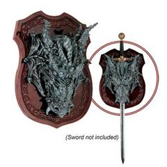 Dragon Head Plaque / Sword Hanger