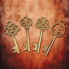 Monastery Keys - Set of 4