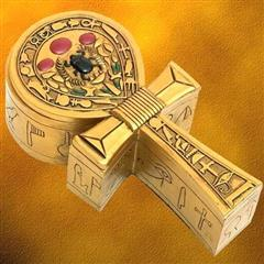 Egyptian Ankh Box