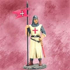 European Crusader Figurine