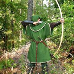 European Longbow & Arrows