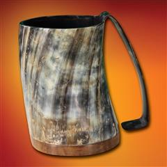 Full Pint Horn Tankard