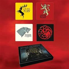 Game of Thrones Four Sigil Coaster Set