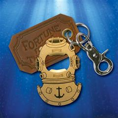 Gentleman's Diving Helmet Bottle Opener & Key Ring