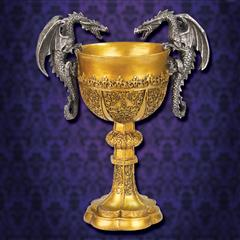 King Arthur Decorative Dragon Chalice